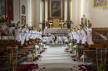 Dekoracje wnętrz i kościołów