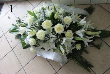 Palmy i wieńce pogrzebowe